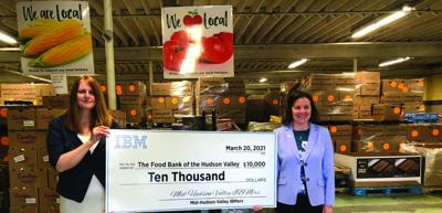 Food Bank receives $10,000 from IBM