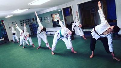 Clearwater Valley News: Doing Yoga at the Dojo
