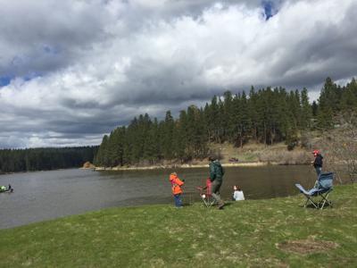 Fishing at Winchester Lake