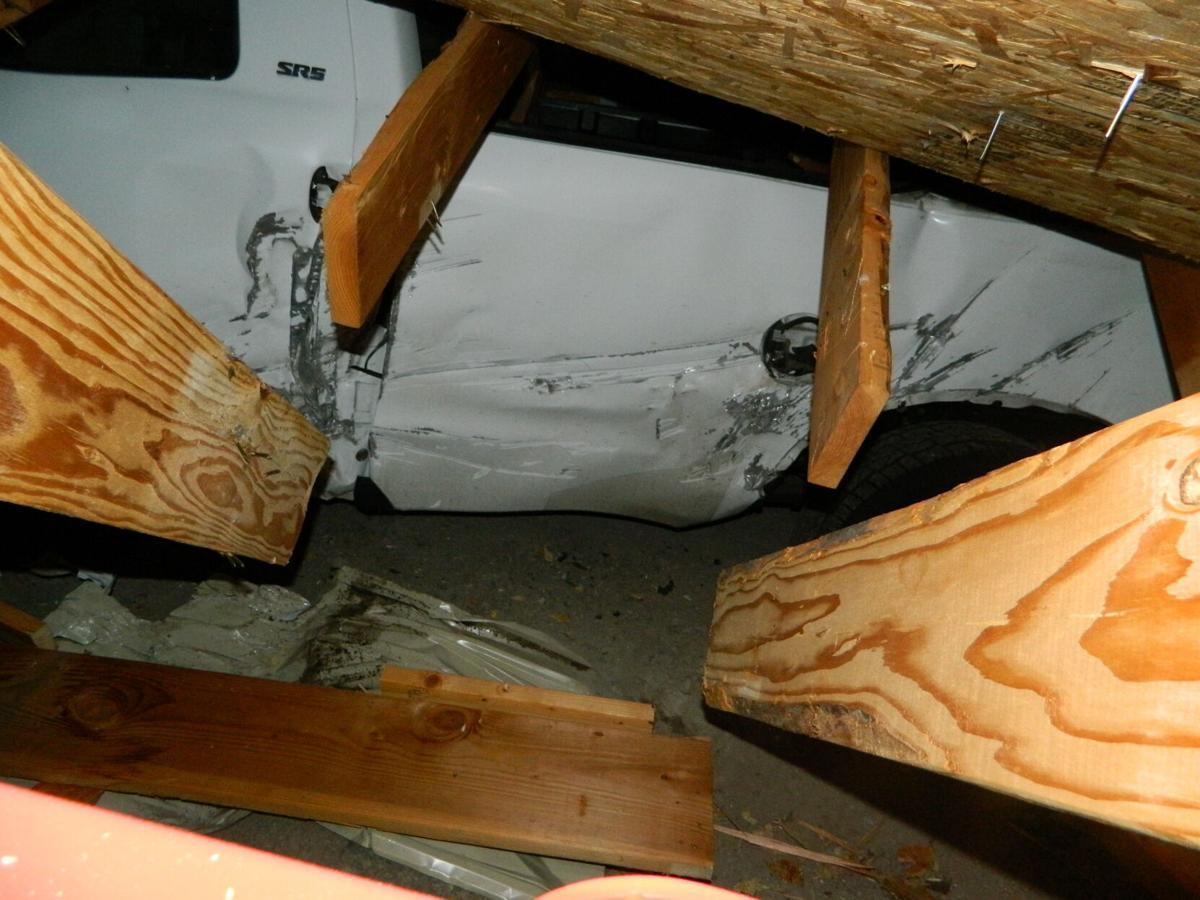 Boulder damage photo two