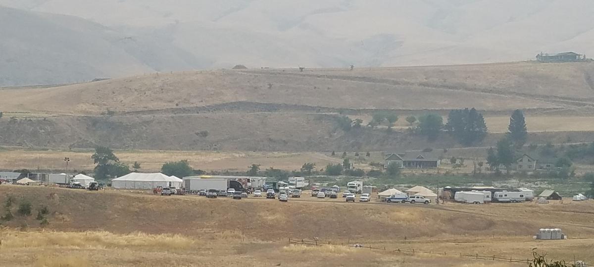 White Bird News: Fire camp still set up at WB rodeo grounds