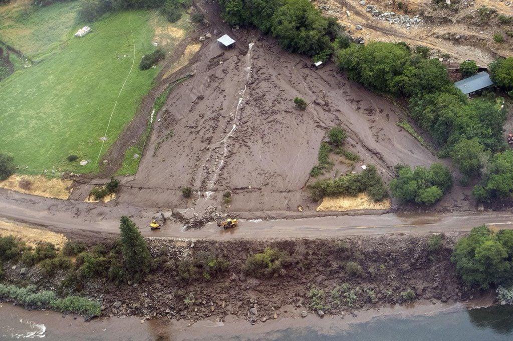 Mudslide on US95