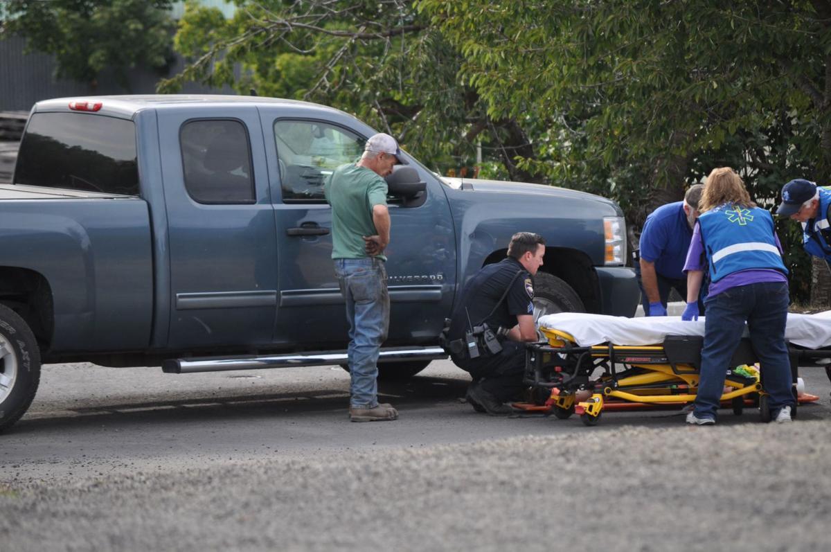 Boise man injured following sideswipe crash on US95