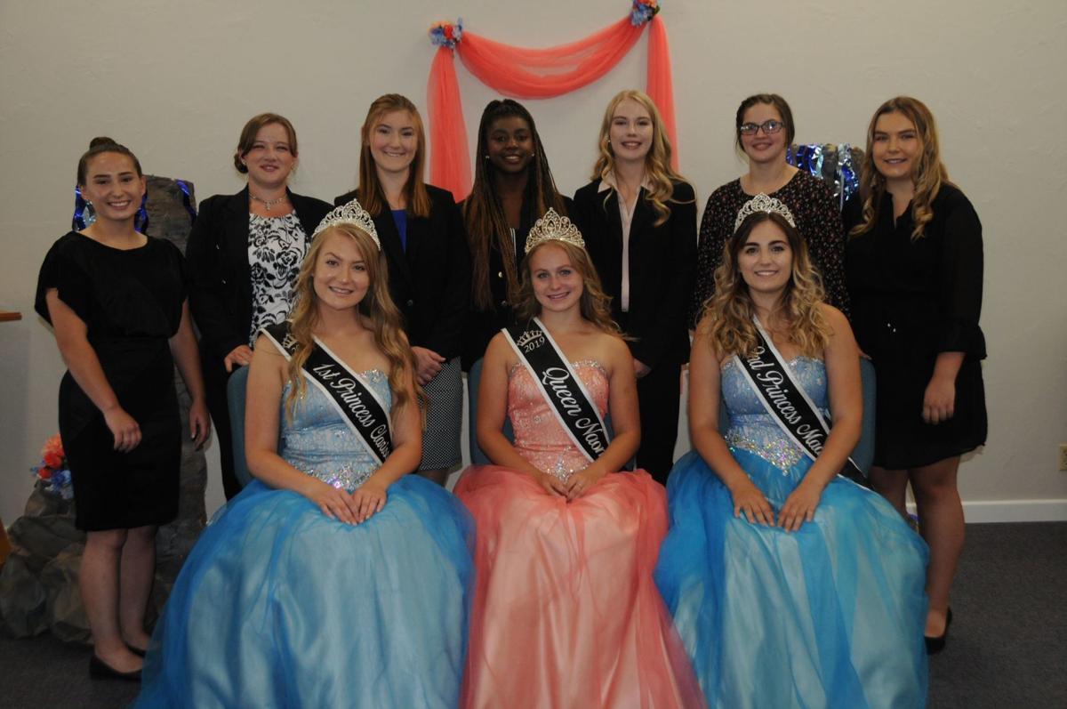 Idaho County Fair royalty, candidates