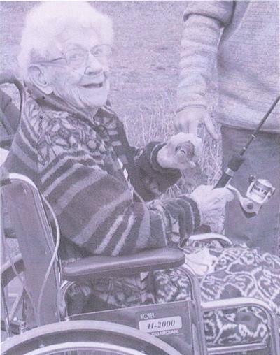 Roberta Robie celebrates 102nd birthday