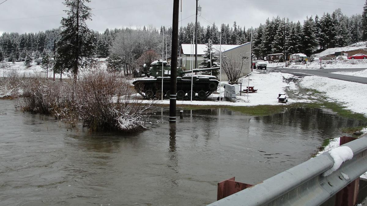 Flooding in Elk City