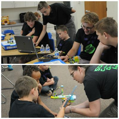 GHS duo brings in robotics camp for senior project