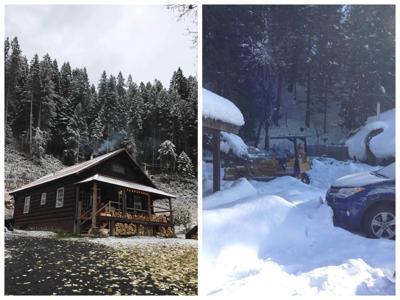 Snow in Lowell/Syringa
