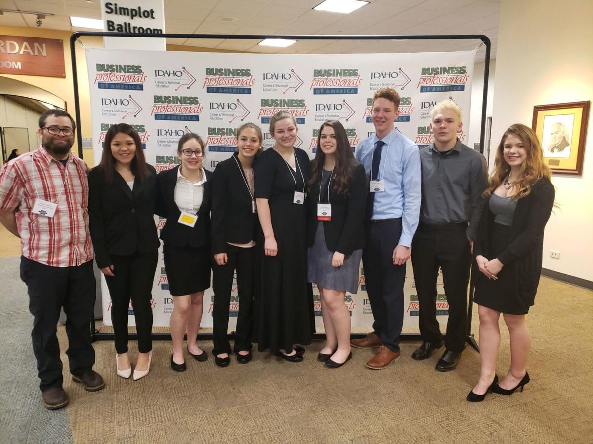 Clearwater Valley High School's BPA members
