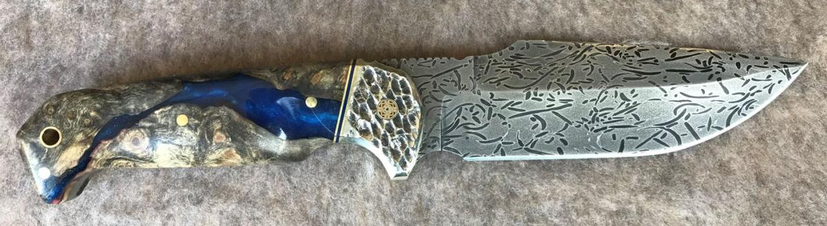 Darin Hunter's winning knife