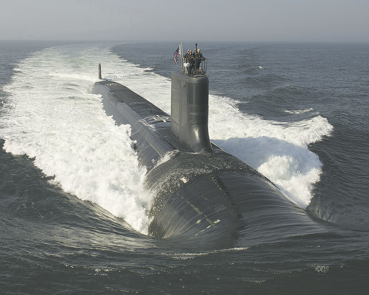 Virginia Class submarine photo