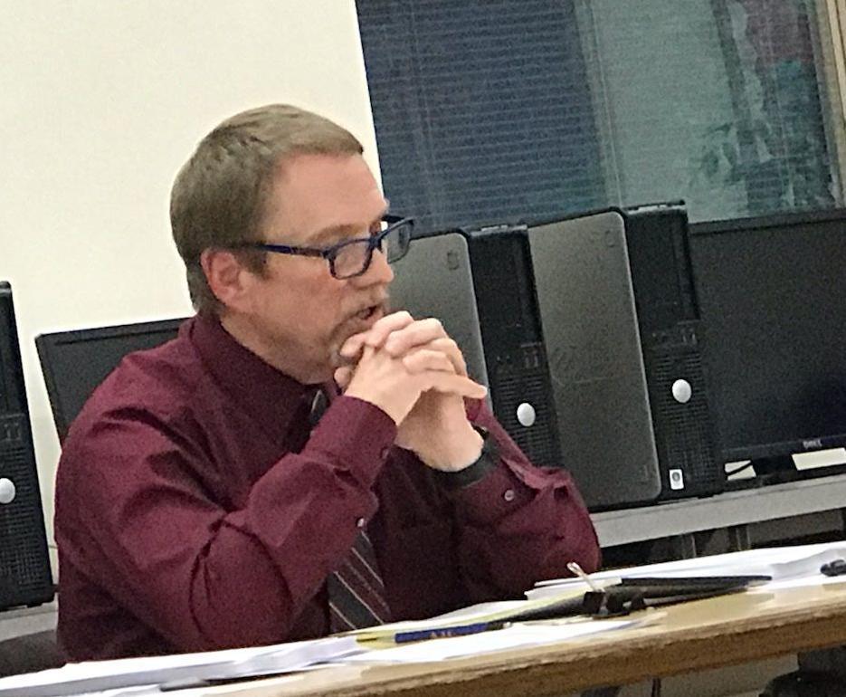 MVSD Superintendent Marc Scheibe