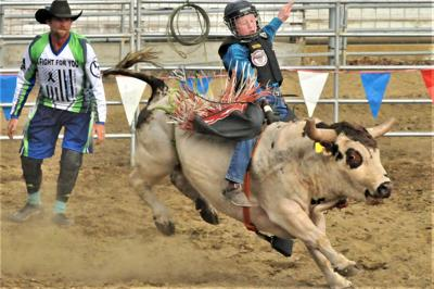 Next-Generation Bull Riders at Grangeville