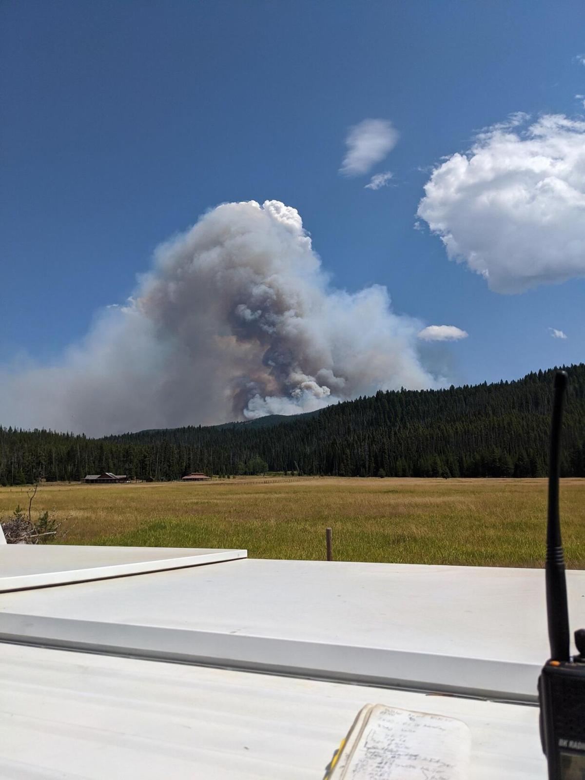 Shissler Fire, Aug. 19