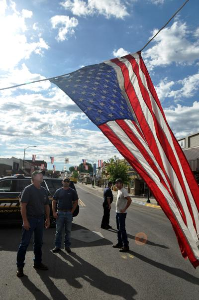 Main Street Flags Up For Border Days