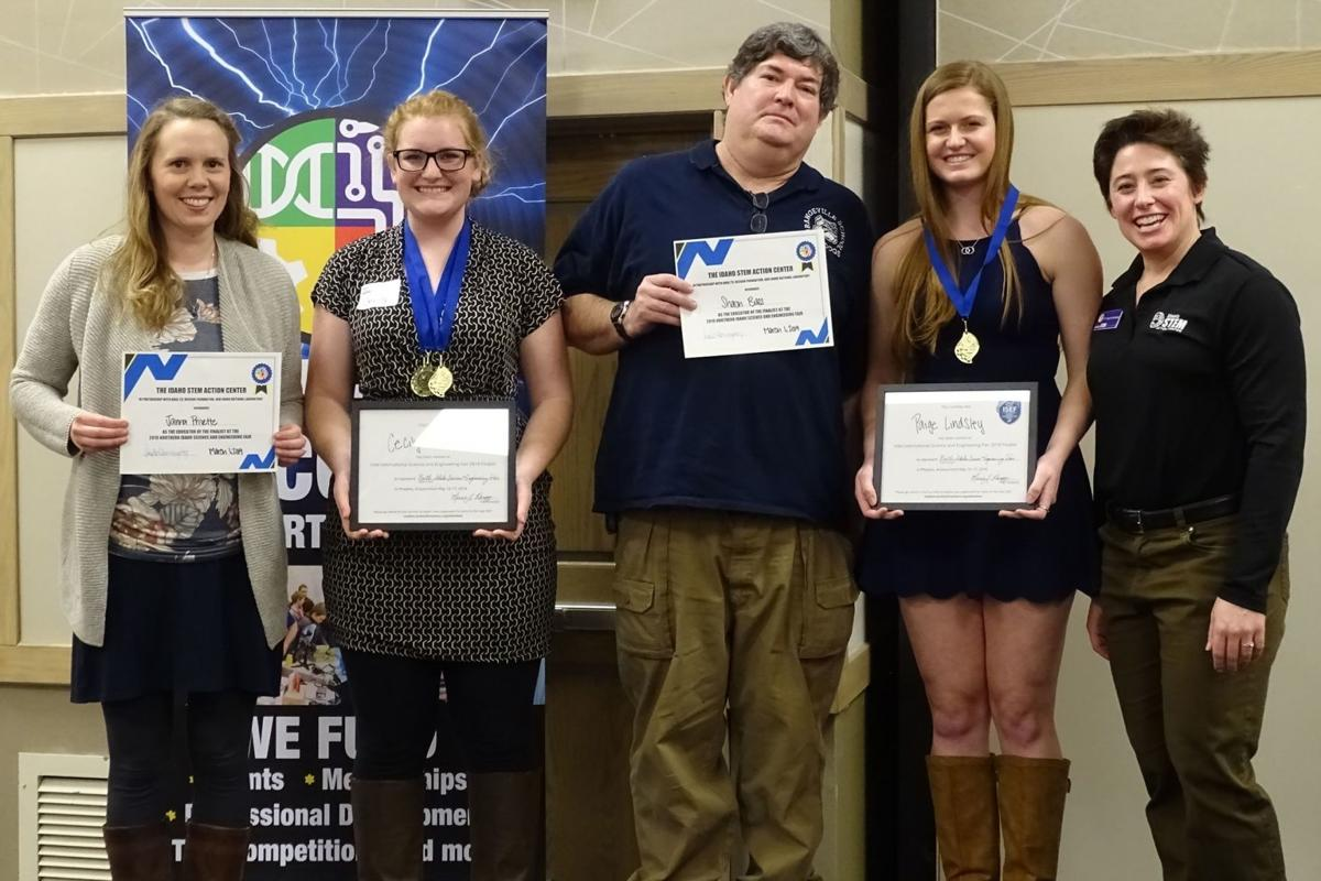 Grangeville, Kamiah high school projects earn top honors at North Idaho science fair