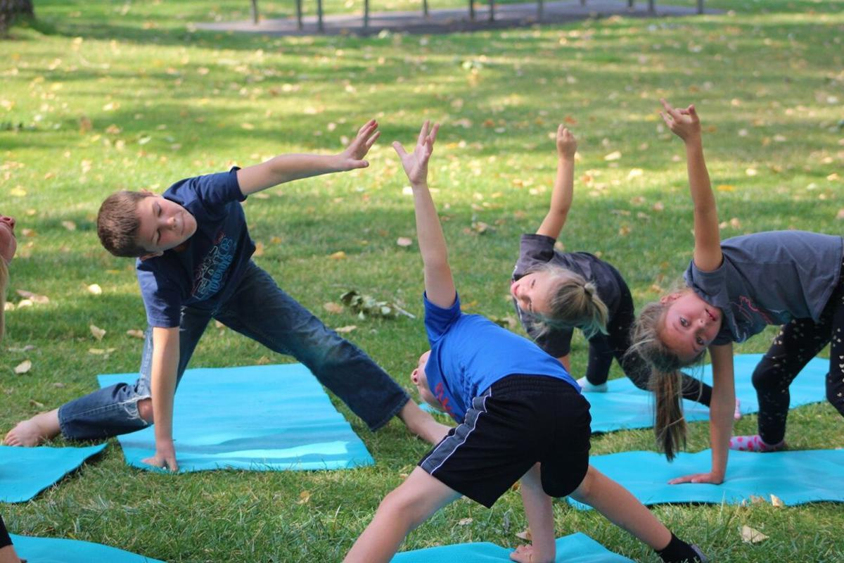 Yoga with kids pic 2