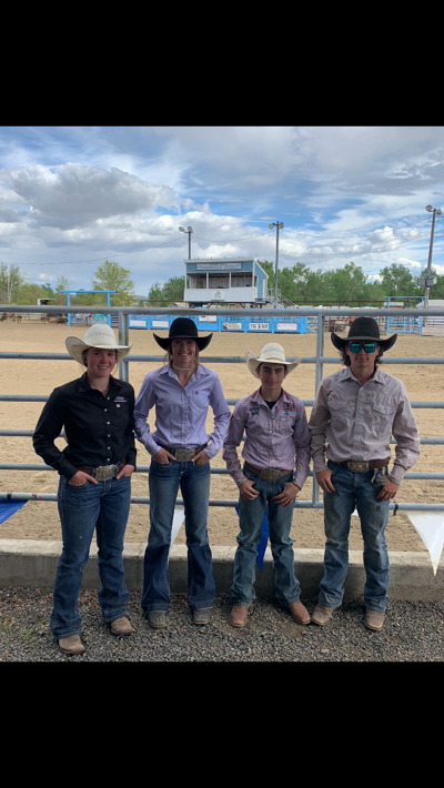 Four qualified for state rodeo photo