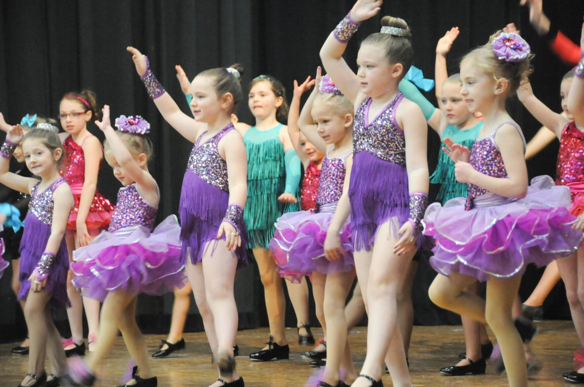 Dance students at recital photo