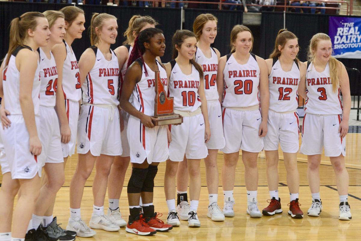Prairie girls take second at state