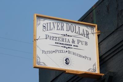 Silver Dollar sign photo