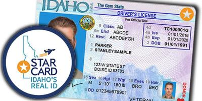 Star card - Idaho Real ID