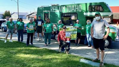 Reclaim Idaho group photo
