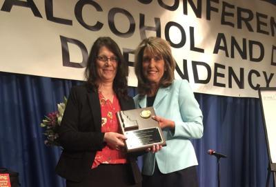Sharlene Johnson awarded