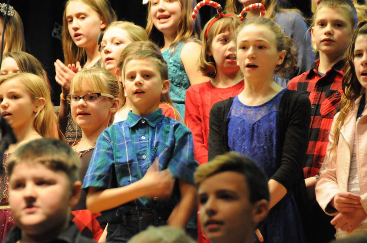 "Grangeville Elementary School students sing ""This Season"""