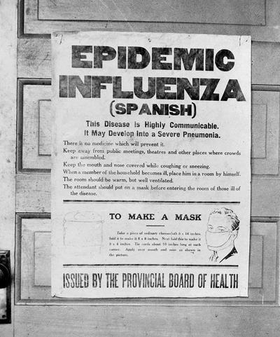 Spanish flu hit Lewis County hard 100 years ago