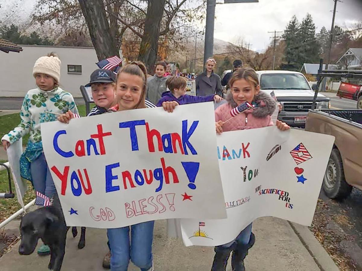 Salmon River school celebrates Veterans Day photo 1