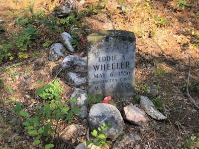 Eddie Wheeler grave marker