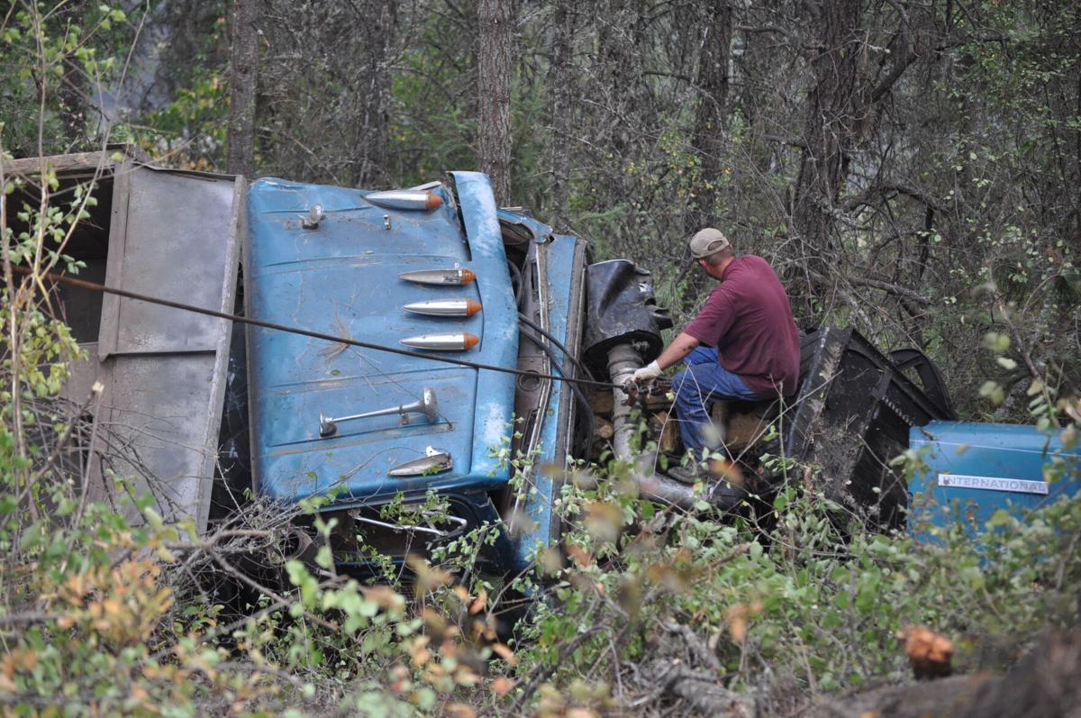 Thursday, Sept. 9, accident on State Highway 13.