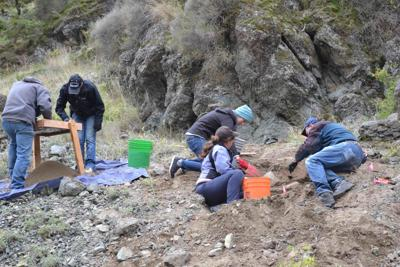 Human remains found last month undergoing testing