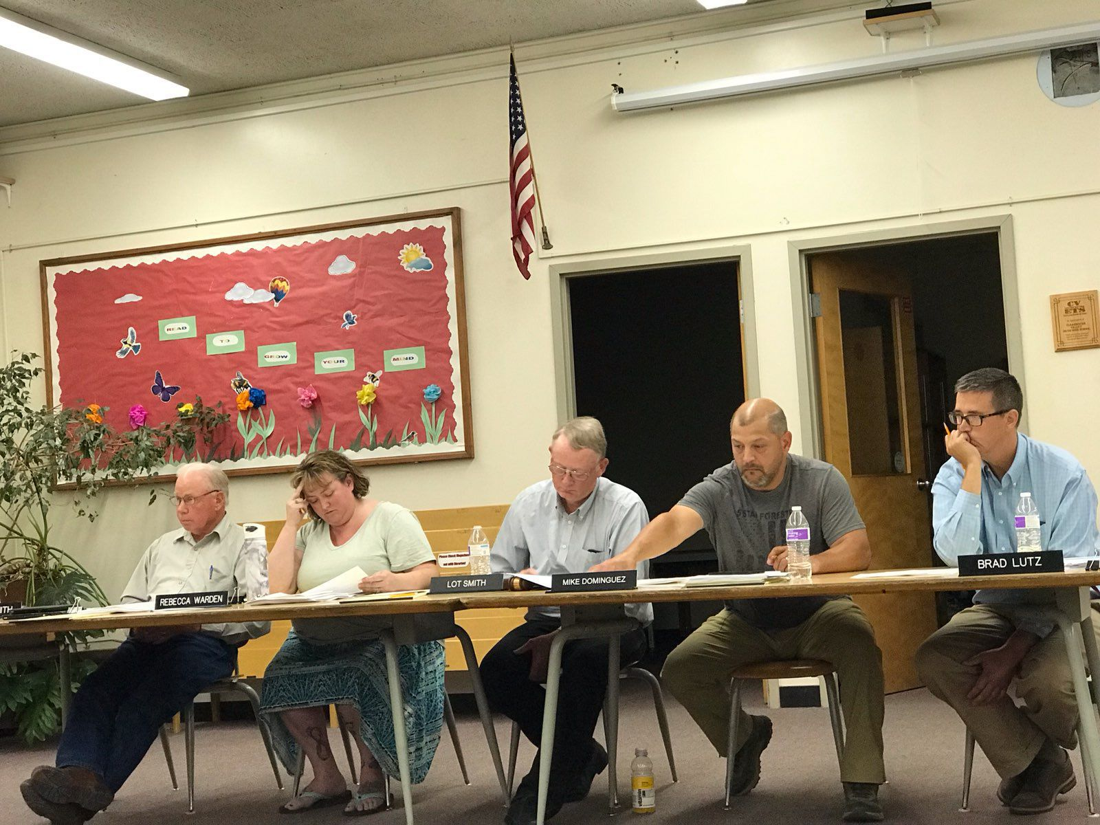 Mountain View School District 244 board of trustees