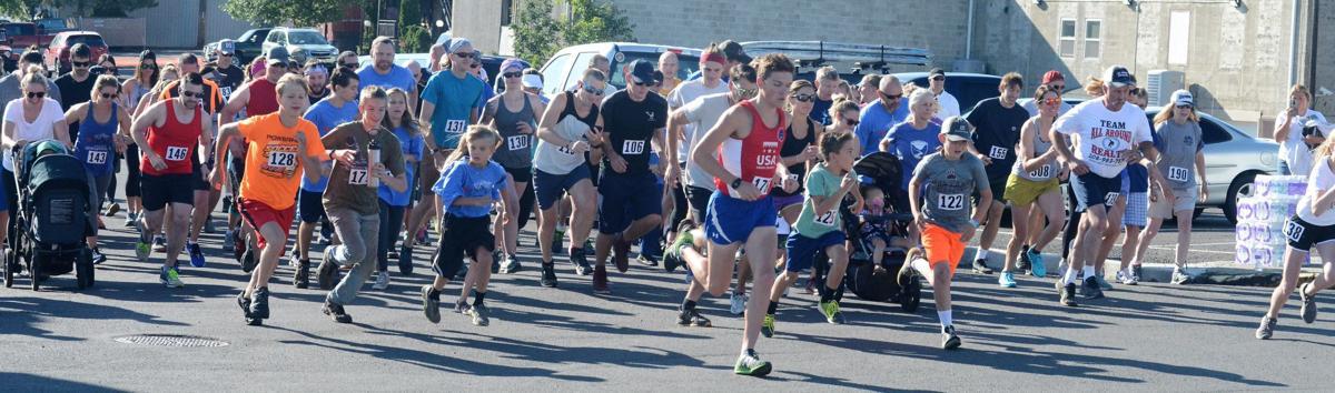 Joe McGuigan wins Syringa Hospital Foundation fun run