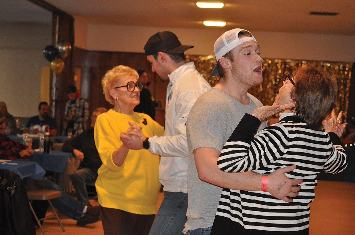 Dancing at the Grangeville crab feed