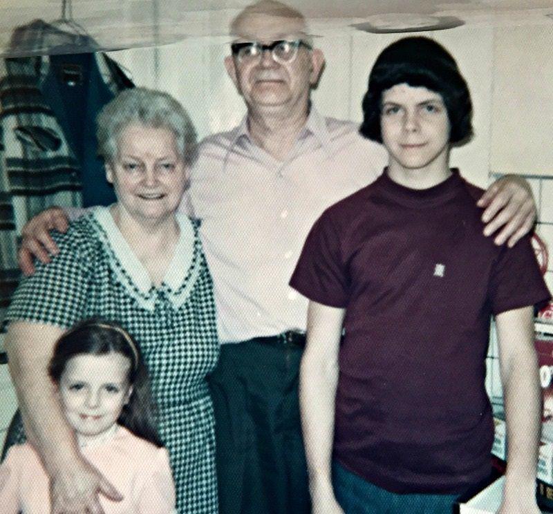 Grandma and Grandpa Cooper