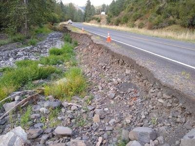 State Highway 162 near Kamiah