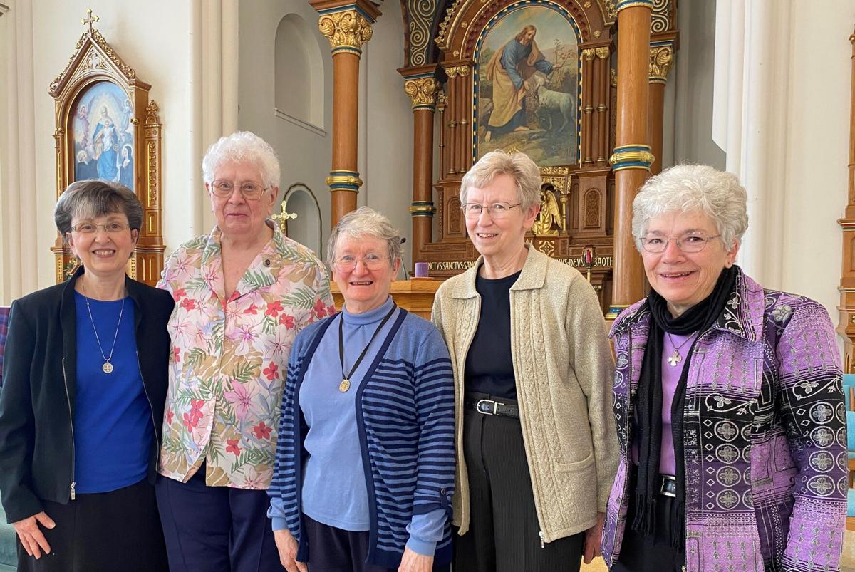 Sister Mary Forman re-elected Prioress photo 1