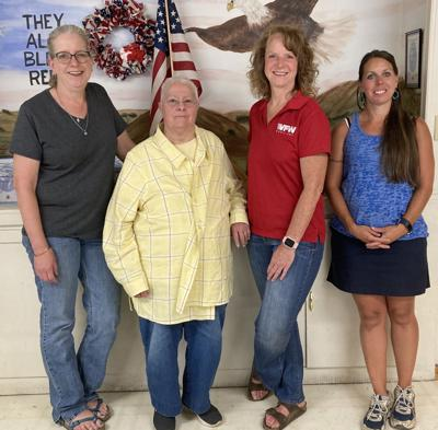 VFW Wilderness Post Auxiliary officers photo