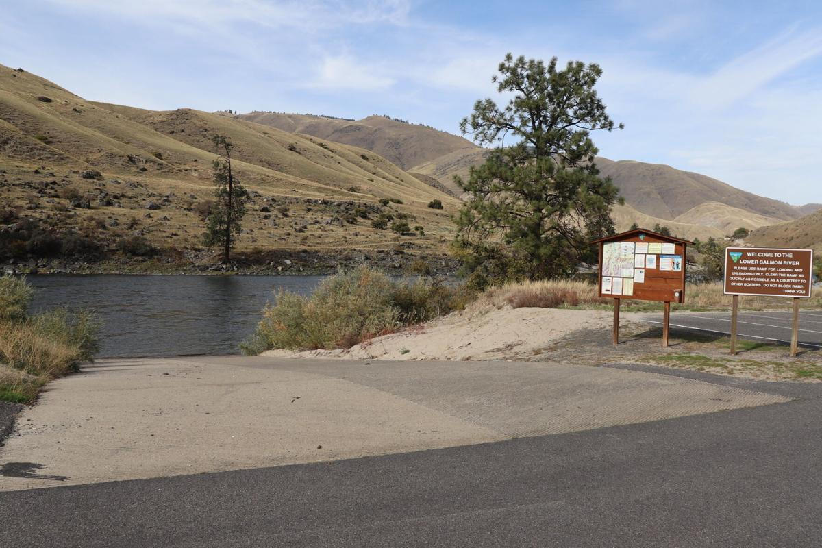 Lucile boat ramp photo