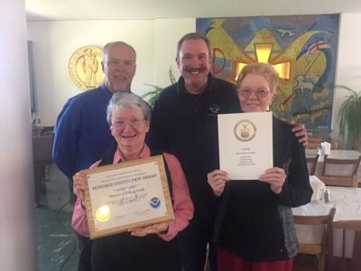 NWS honors St. Gertrudes, Sister Wemhoff for service