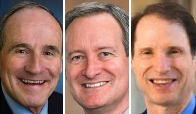 Jim Risch, Mike Crapo and Ron Wyden