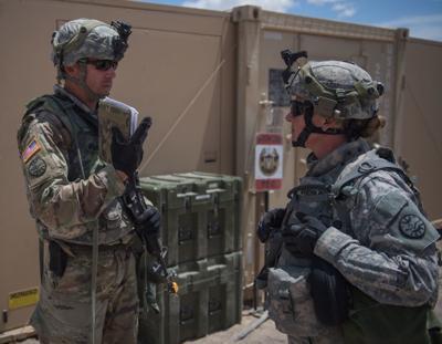 Region's guardsmen mobilized for four-week deployment in California