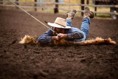Cowboy Competition: Ranch Rodeo, hands against each other for fun, bragging rights