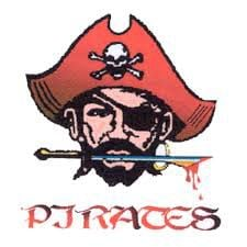Prairie High School (PHS) Pirates logo