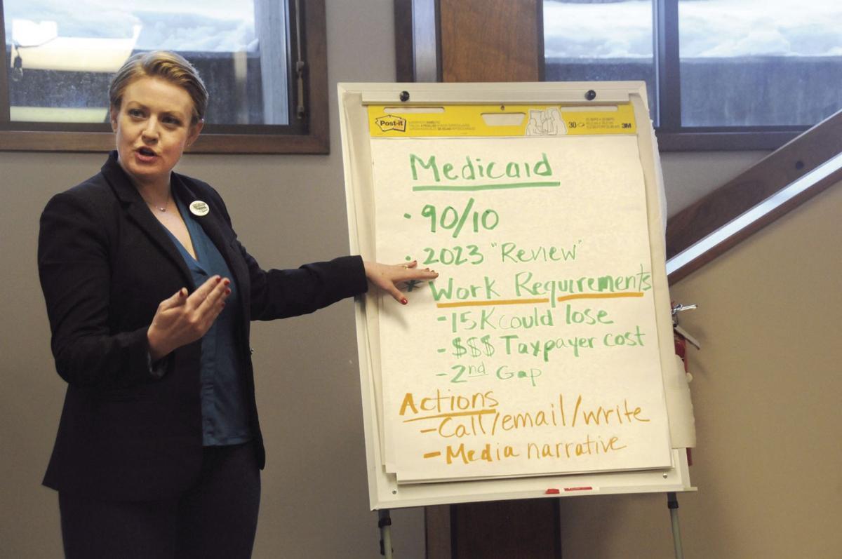 Medicaid expansion - Reclaim Idaho Executive Director Rebecca Schroeder