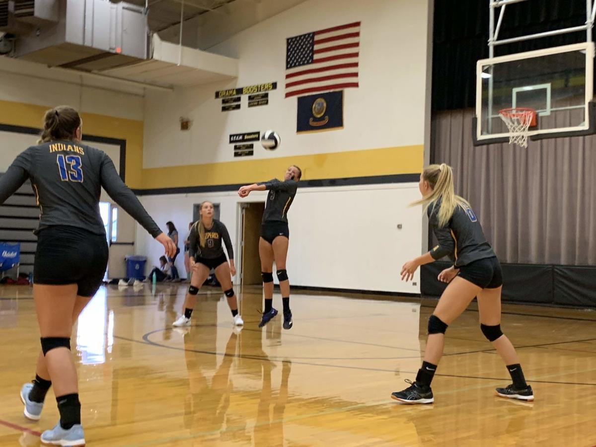 Nezperce volleyball