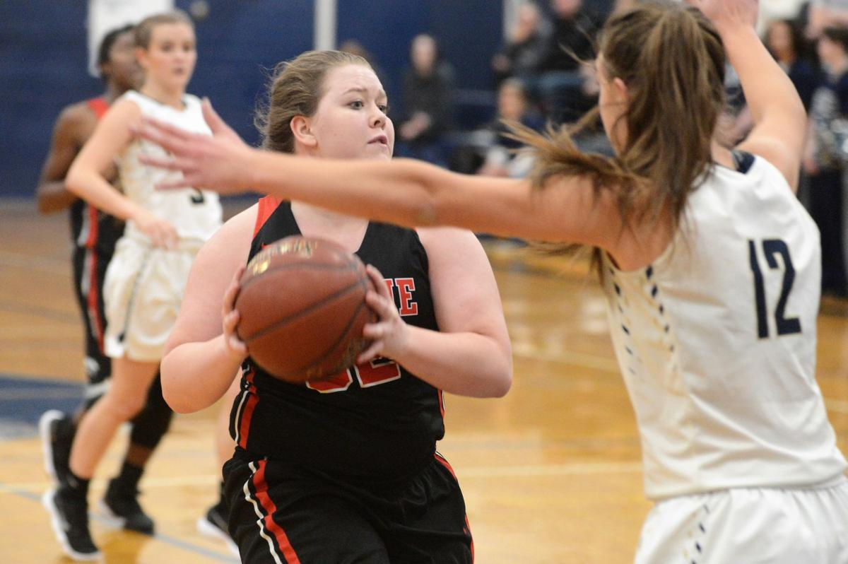 Girls basketball: Prairie at Grangeville 2019